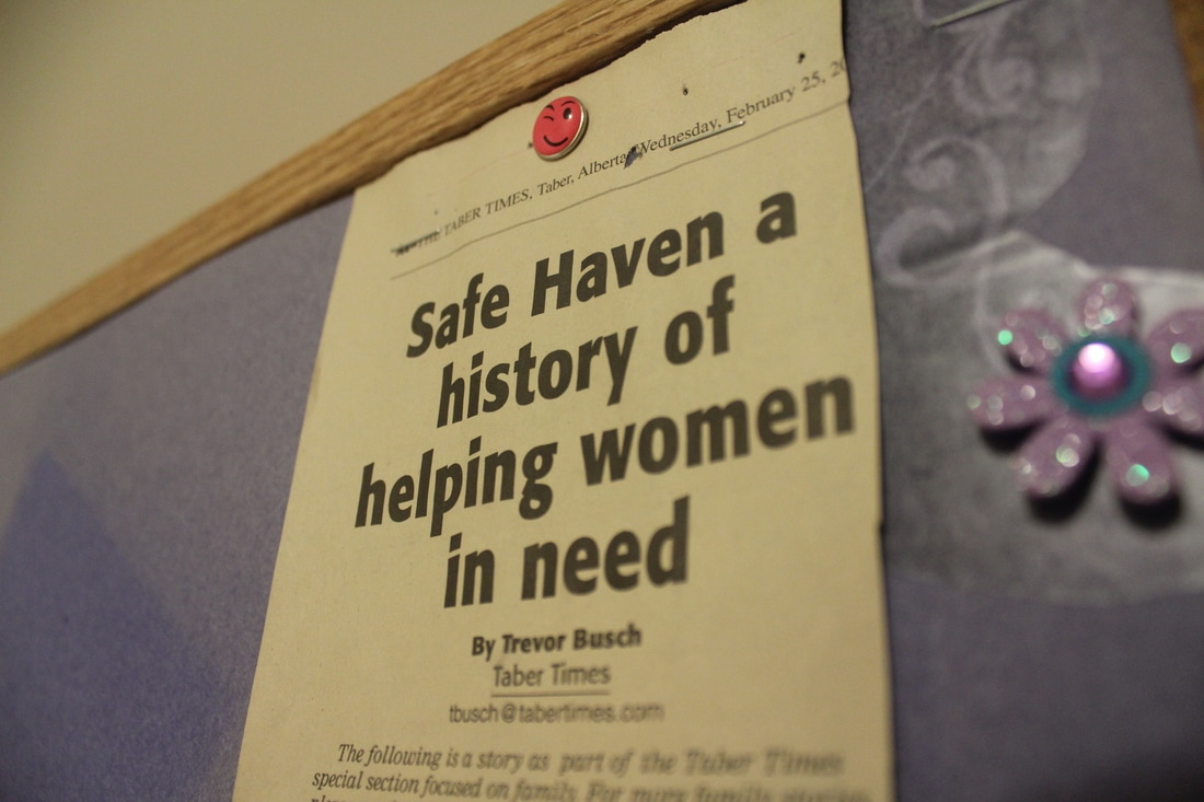 Safe Haven has a history of helping women